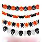 Rad lanac Garland dekoracije bundeve šišmiša duh pauka oblik lubanje Halloween dekor vijenac