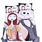 Novinka Povlečení 3 kusy Polybavlna Komiks Reaktivní barviva Polybavlna Twin Full Queen King 3 ks (1 x povlak na přikrývku, 2 x povlak)