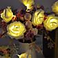 20 LED ruža cvijet vila string svjetla vjenčanje Garden Party Božićni ukras