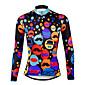 PALADIN® Biciklistička majica Žene Dugi rukav BiciklProzračnost / Quick dry / Ultraviolet Resistant / Kompresija / Lagani materijali /