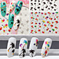3pcs Nail Art samolepka 3D samolepky na nehty make-up Kosmetické Nail Art design