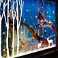 Vánoce / Komiks / Prázdninový Samolepky na zeď Samolepky na stěnu Ozdobné samolepky na zeď,PVC Materiál Snímatelné / Nastavitelná poloha