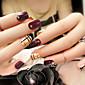 24 komada box završio noktiju umjetni nokti moda nail trake mladenka