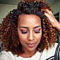 3 kusy Kudrny Lidské vlasy Vazby Brazilské vlasy 300G 10inch Rozšíření lidský vlas