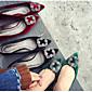 Žene Ravne cipele Ostalo Umjetna koža Aktivnosti u prirodi Crna Zelena Boja vina