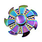 多色の円形のトリの手のスピナー亜鉛合金アドホックオーストリア学習教育おもちゃ安定した長い時間大人の子供クールなギフト--- 1 PCの色ランダム