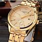 CHENXI® Pánské Hodinky k šatům Módní hodinky Náramkové hodinky Maketa Diamant Hodiny japonština Křemenný Kalendář imitace Diamond Slitina