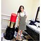 レディース お出かけ カジュアル/普段着 夏 Tシャツ(21) ドレス スーツ,シンプル ストリートファッション ゼブラプリント 半袖 strenchy